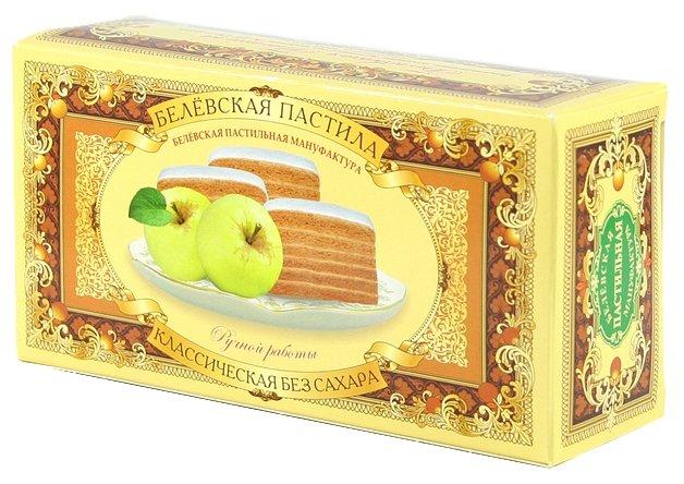 Пастила Белевская пастильная мануфактура Белёвская без сахара классическая 100 г