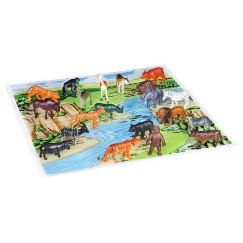 Фигурки BONDIBON Ребятам о зверятах - Дикие животные ВВ1612 bondibon ребятам о зверятах дикие животные вв3136