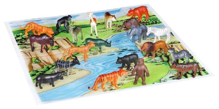 Фигурки BONDIBON Ребятам о зверятах - Дикие животные ВВ1612