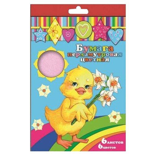 Купить Цветная бумага 40100 Феникс+, A4, 6 л., 6 цв., Цветная бумага и картон