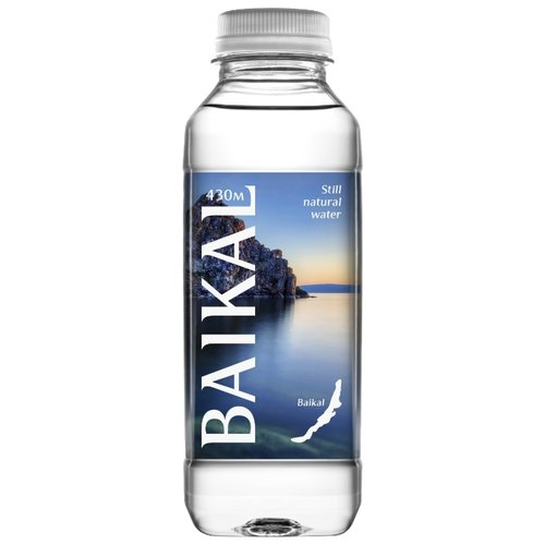Вода питьевая Baikal430 негазированная, ПЭТ, 0.45 л