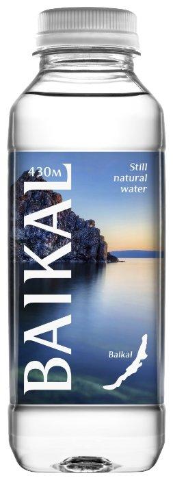 Глубинная байкальская вода BAIKAL430 (байкал 430) 0,85 литра, ПЭТ, 6 шт. в упак.