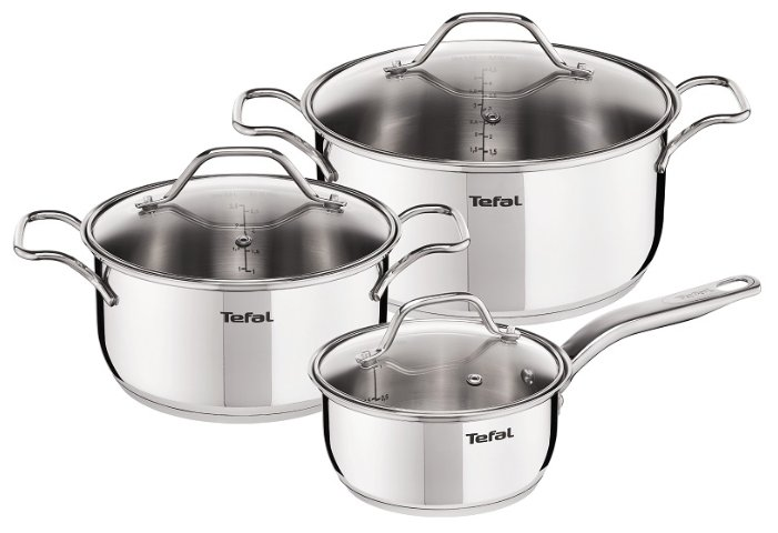 Набор посуды Tefal Intuition A702S685 6 пр.