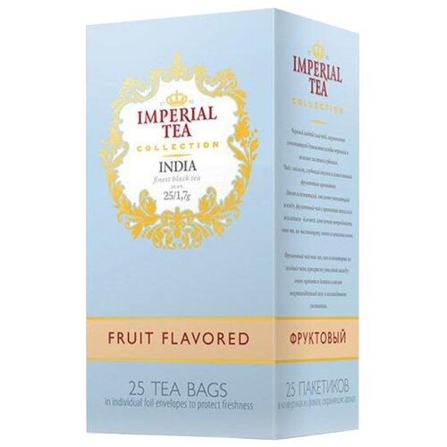 Чай черный Императорский чай Collection India Fruit flavored в пакетиках, 25 шт.