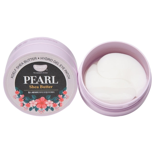 Koelf Патчи Pearl & shea butter hydro gel eye patch
