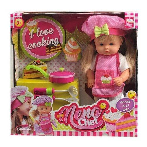 Кукла Dimian Baby Nena Шеф-повар, 36 см, BD387Куклы и пупсы<br>