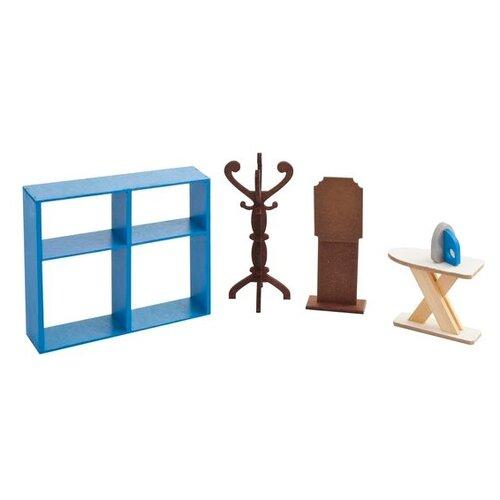 Фото - PAREMO Набор мебели для гардеробной комнаты (PDA417-05) синий/коричневый paremo набор мебели для ванной комнаты pda417 04 белый бежевый