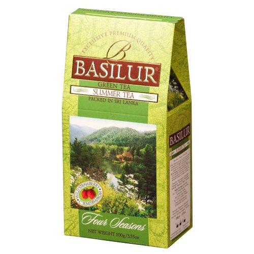 Чай зеленый Basilur Four seasons Summer tea, 100 г