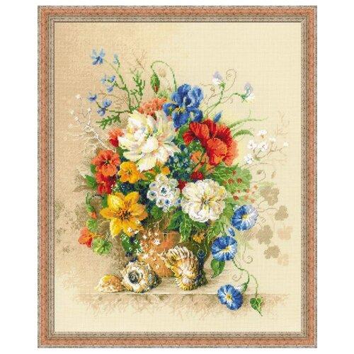 Купить Риолис Набор для вышивания Premium Фламандское лето 40 х 50 см (100/042), Наборы для вышивания