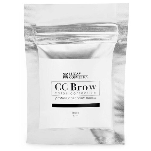 CC Brow Хна для бровей в саше 10 г black хна для бровей cc brow cc brow cc003lwxzk04