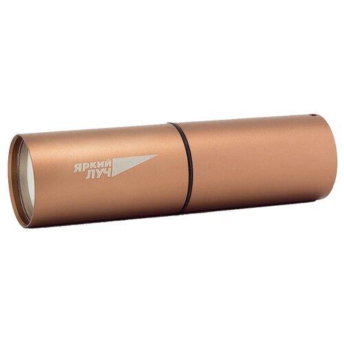 Ручной фонарь Яркий Луч L-100 COB золотистый ручной фонарь l a g s011 золотой