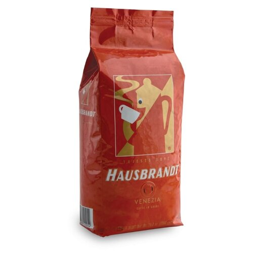 Кофе в зернах Hausbrandt Venezia, смесь арабики и робусты, 1 кгКофе в зернах<br>