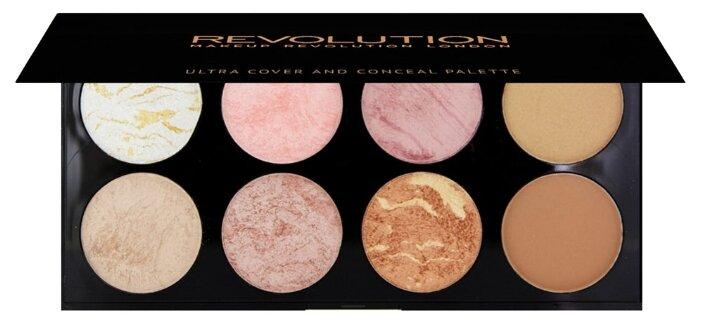 REVOLUTION палетка для макияжа Ultra Blush Palette