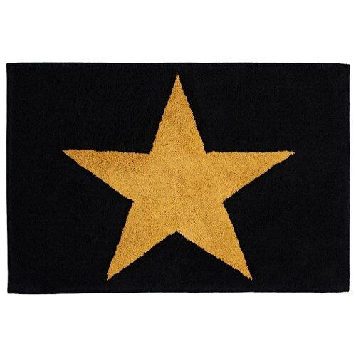 Коврик RIDDER Star, 60х90 см черный
