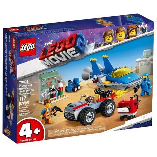 Купить Конструктор LEGO The LEGO Movie 70821 Мастерская «Строим и чиним» Эммета и Бенни, Конструкторы