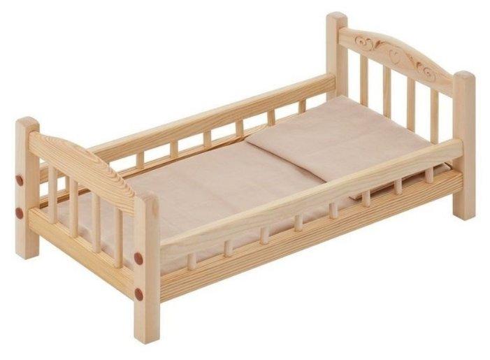 PAREMO Кроватка для куклы с комплектом белья (PFD116-01)