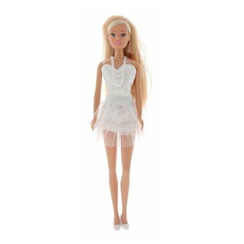 Кукла Steffi Love Штеффи в белом летнем платье, 29 см, 5730662 недорого