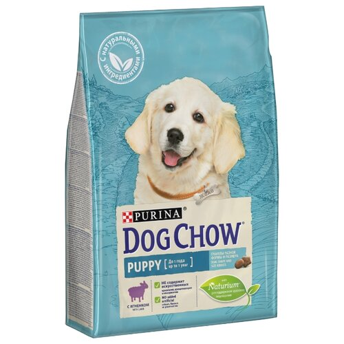 Сухой корм для щенков DOG CHOW ягненок 2.5 кг dog chow dry food for puppies up to 1 year old with chicken 14 kg