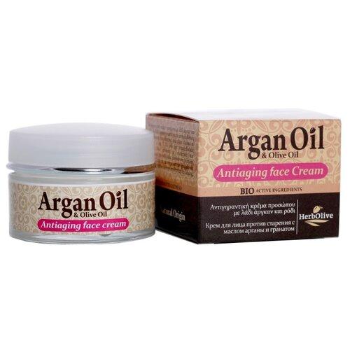 Крем ArganOil с маслом арганы и экстрактом граната для лица 50 млАнтивозрастная косметика<br>