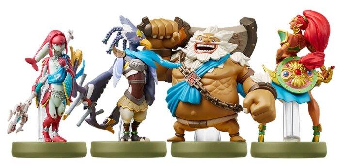 Фигурки Amiibo The Legend of Zelda Collection Урбоза, Дарук, Мифа, Реваль