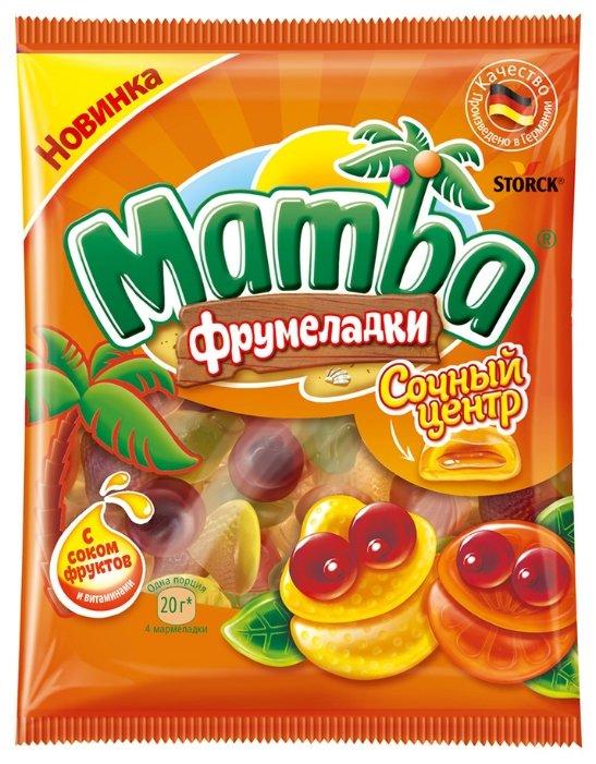 Мармелад жевательный Mamba Фрумеладки Сочный центр 70г