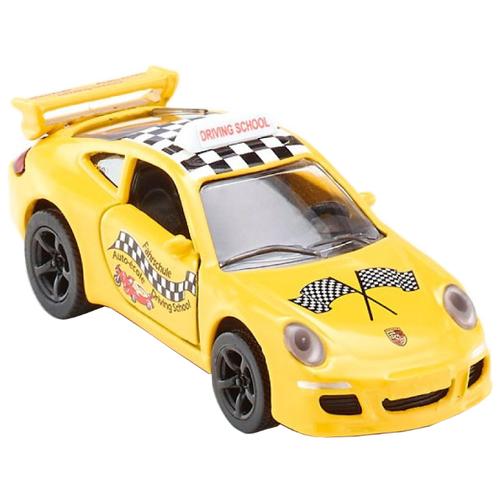 Легковой автомобиль Siku Porsche 911 Fahrschule (1457) 1:55 7.5 см желтыйМашинки и техника<br>