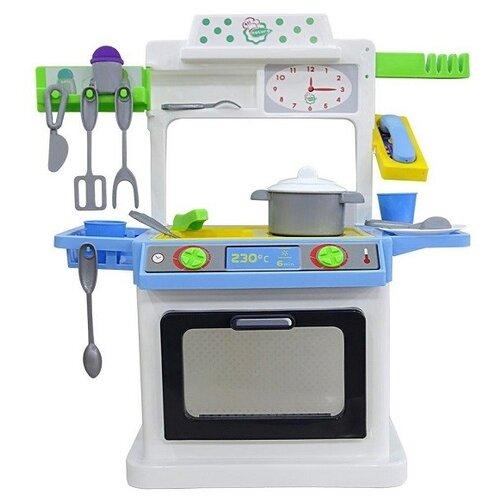 цена на Кухня Palau Toys NATALI №4 43429 белый/черный/синий