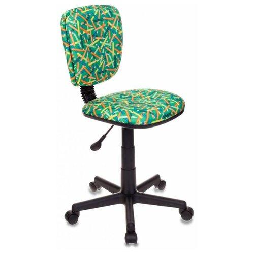 Компьютерное кресло Бюрократ CH-204NX детское детское, обивка: текстиль, цвет: зеленый карандаши фото