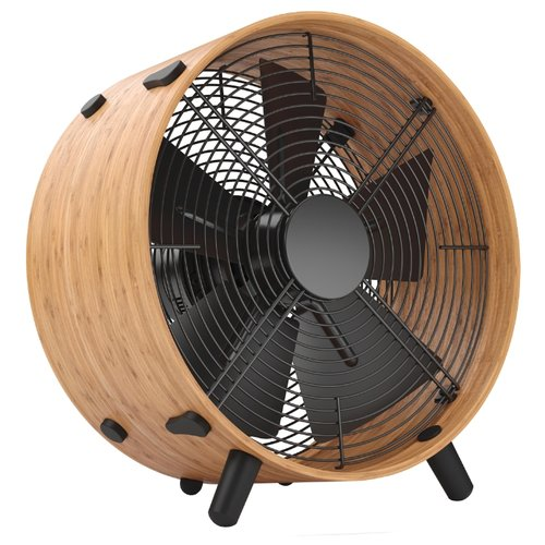 Напольный вентилятор Stadler Form Otto Fan O‐006/O-009R bamboo/black