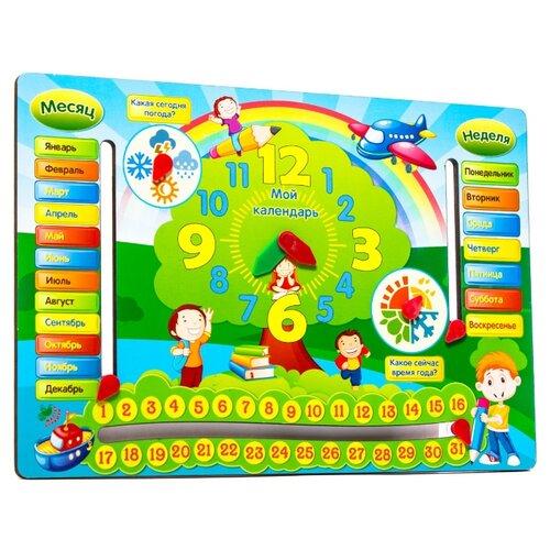 Купить Развивающая игра Мастер игрушек Весёлый календарь IG0082, Обучающие материалы и авторские методики