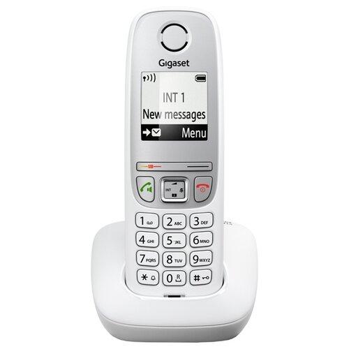 Радиотелефон Gigaset A415 белый радиотелефон gigaset a415 black