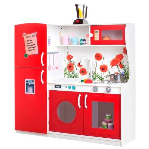 Купить Кухня PAREMO PK218/PK218-01/PK218-02/PK218-03/PK218-04/PK218-05/PK218-06/PK218-07 красный, Детские кухни и бытовая техника