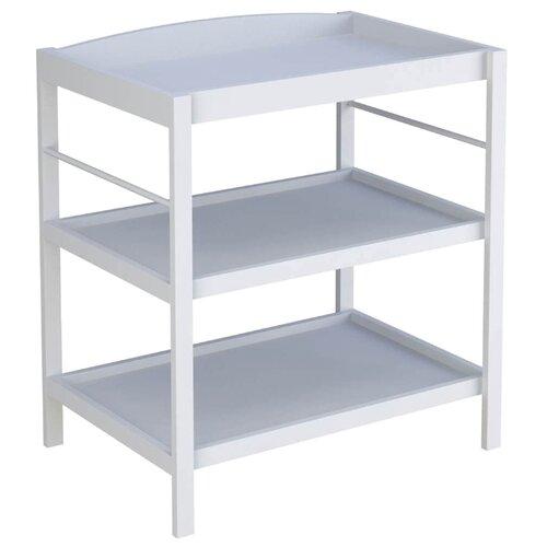 Пеленальный столик Polini Simple 1080 белый комоды polini simple nordic пеленальный
