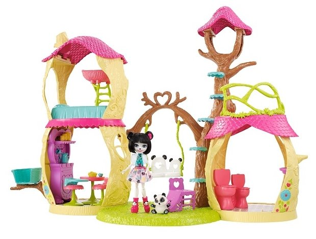 Игровой набор Mattel Enchantimals - Лесной замок FNM92