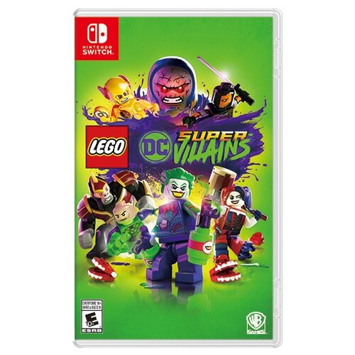 Игра для Nintendo Switch LEGO DC Super-Villains геймпад nintendo switch pro controller