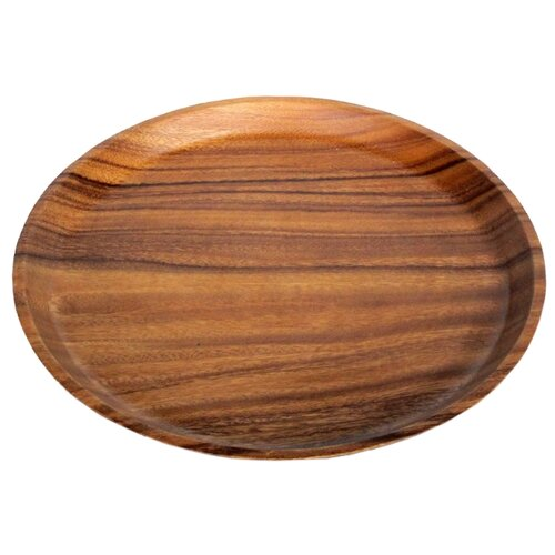 Oriental Way Блюдо Гармония 30 см коричневый