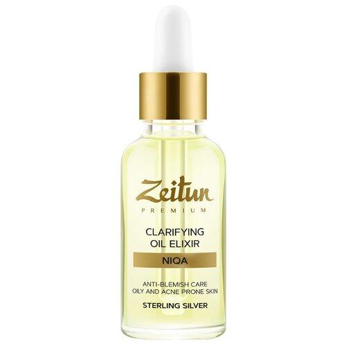 Zeitun Преображающий масляный эликсир NIQA для проблемной кожи лица с серебром, 30 мл zeitun преображающий масляный эликсир niqa для проблемной кожи лица с серебром 30 мл