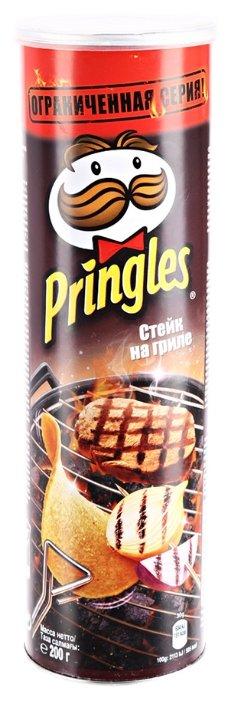 Чипсы Pringles картофельные Flame Grilled Steak