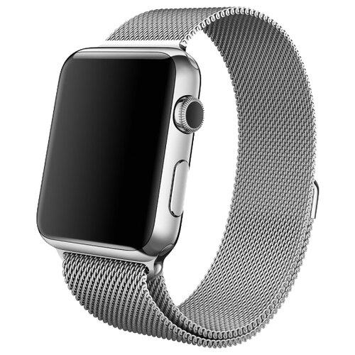 Lemon Tree Ремешок Milanese Loop для Apple Watch 42/44 мм серебристый