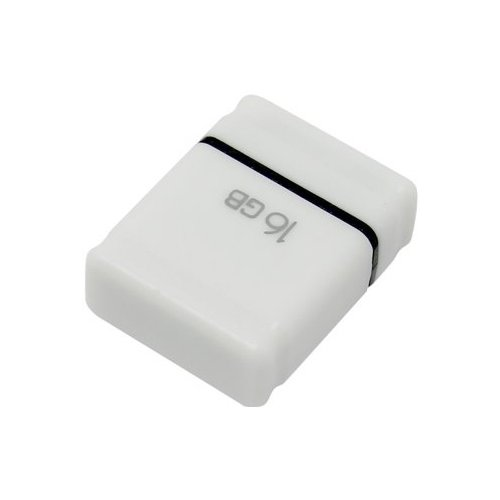 Флешка Qumo nanoDrive 16Gb белый флешка qumo tropic 16gb черный