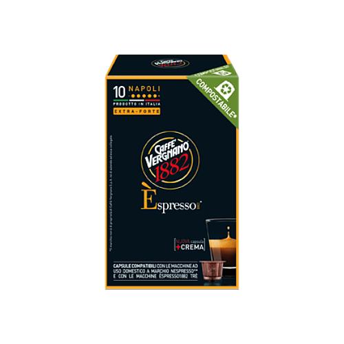Фото - Кофе в капсулах Caffe Vergnano 1982 Espresso Napoli, 10 капс. кофе молотый caffe vergnano 1882 espresso casa 250 г