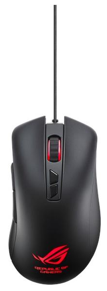 Мышь ASUS GT300 Black USB