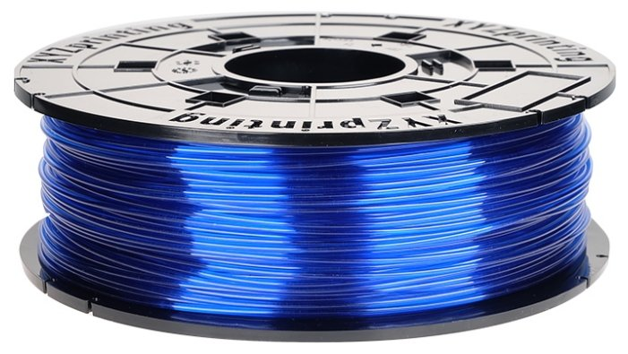PETG пруток XYZPrinting 1.75 мм прозрачно-синий
