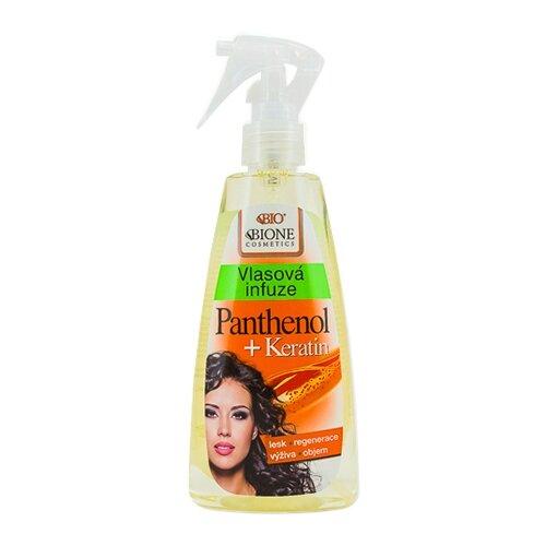 Bione Cosmetics Инфузия для волос Пантенол + Кератин, 260 мл bione cosmetics шампунь exclusive q10 260 мл