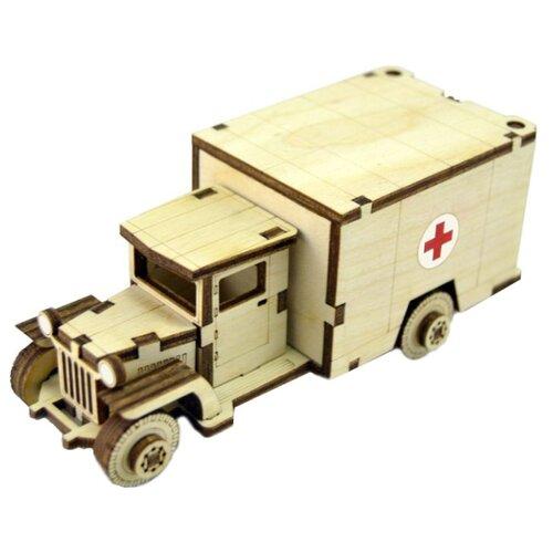 Сборная модель Lemmo Советский грузовик ЗИС-5М (ЗИС-3)