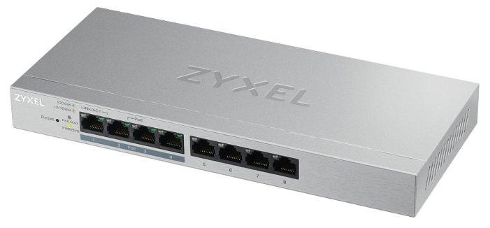 Коммутатор ZYXEL GS1200-8HP v2