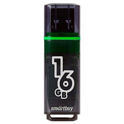 Фото - Флешка SmartBuy Glossy USB 3.0 16GB, темно-серый флешка smartbuy stream usb 2 0 16gb cиний