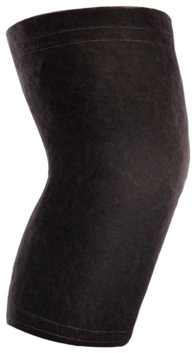 TIMED Бандаж на коленный сустав согревающий из собачей шерсти (TI-222) L/XL, черный