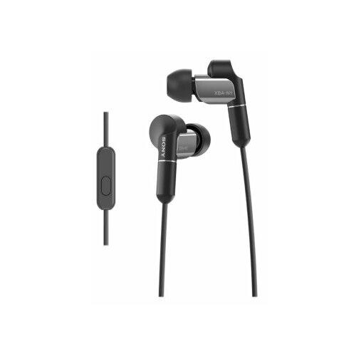 Наушники Sony XBA-N1, black