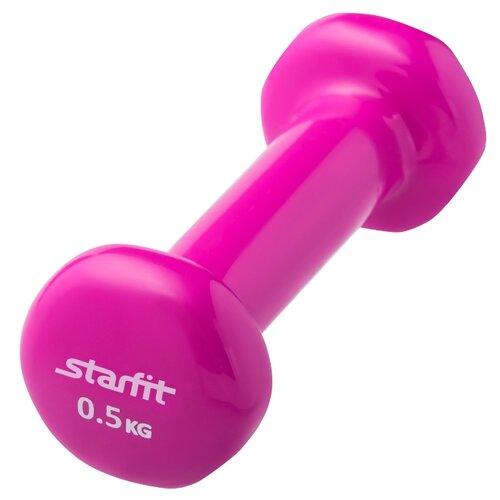 Гантель цельнолитая Starfit DB-101 0.5 кг